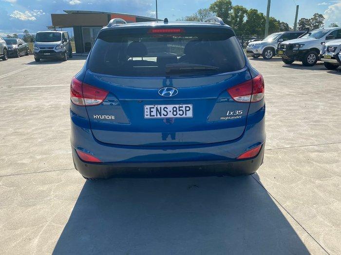 2012 Hyundai ix35 Highlander LM MY12 AWD Blue