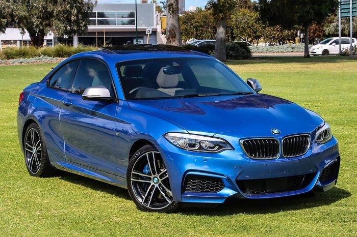 2017 BMW 2 Series M240i F22 Blue