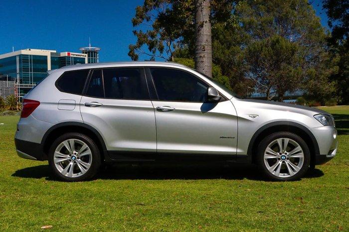 2012 BMW X3 xDrive20d F25 MY12 4X4 Constant Silver