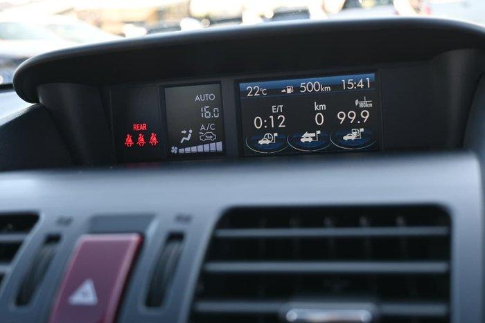 2013 Subaru XV 2.0i-S G4X MY13 AWD Ice Silver