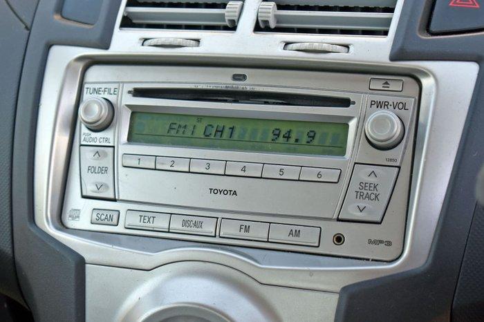 2007 Toyota Yaris YRX NCP91R Quick Silver