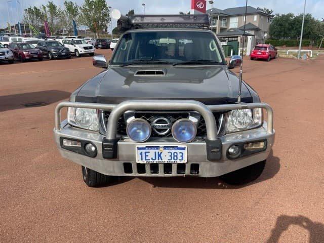 2012 Nissan Patrol ST GU 8 4X4 Dual Range Desert Gold
