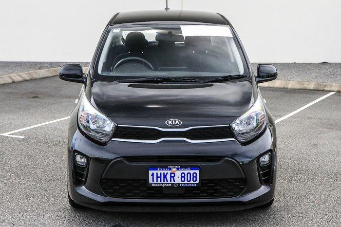 2018 Kia Picanto S JA MY19 Black