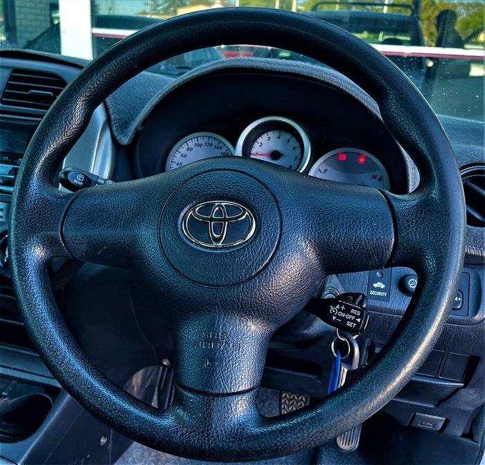 2004 Toyota RAV4 CV ACA23R 4X4 Constant Silver Ash