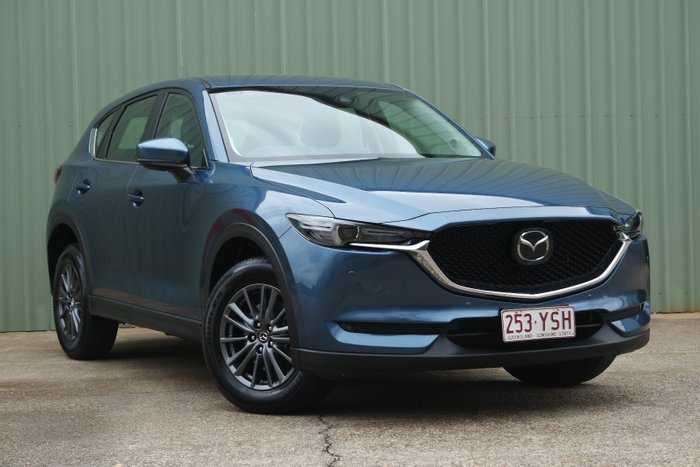 2018 Mazda CX-5 Touring KF Series 4X4 On Demand BLUE