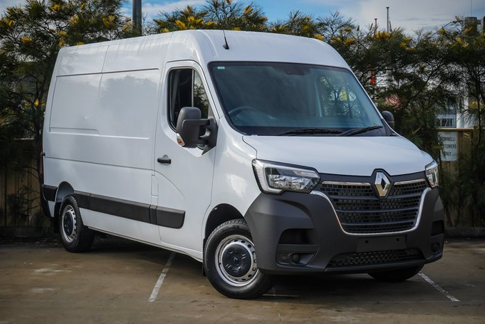 2021 RENAULT MASTER MASTER MY21 MWB FWD 2.3 110KW AMT PRO Mineral White Solid