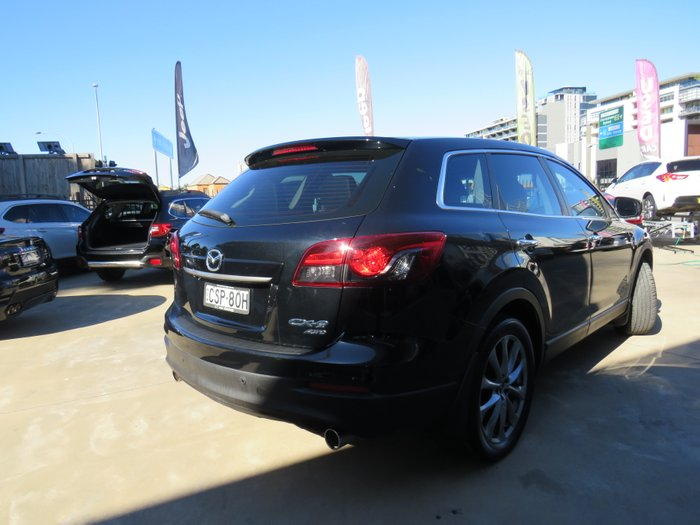 2014 Mazda CX-9 Grand Touring TB Series 5 4X4 On Demand BLACK