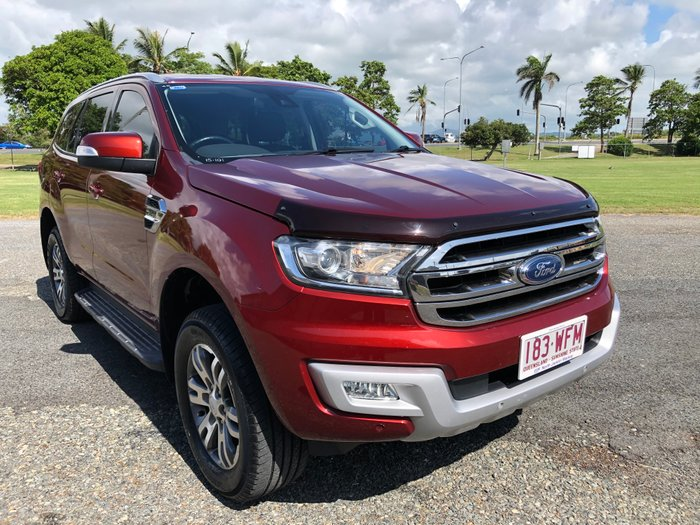 2015 Ford Everest Trend UA 4X4 Dual Range ORANGE