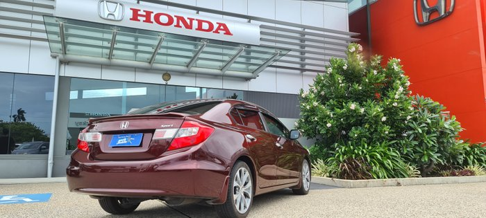 2012 Honda Civic Sport 9th Gen RED