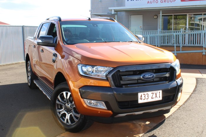 2015 Ford Ranger Wildtrak PX MkII 4X4 Dual Range ORANGE