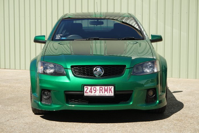 2010 Holden Commodore VE MY10 GREEN