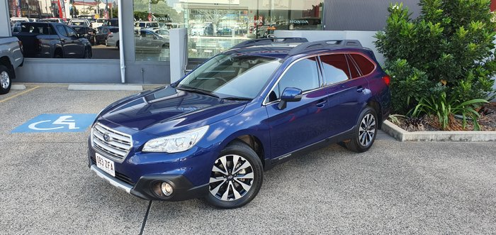 2017 SUBARU OUTBACK B6A MY17 2.5i Fleet Ed Wagon 5dr CVT 6sp AWD BLUE