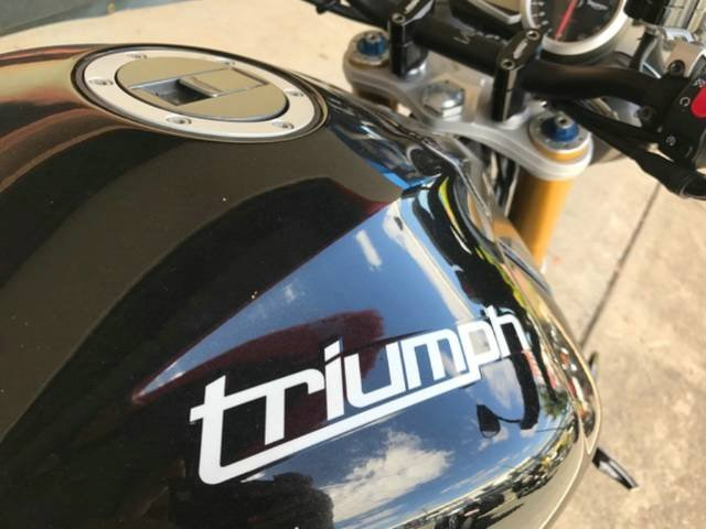 2012 TRIUMPH SPEED TRIPLE R