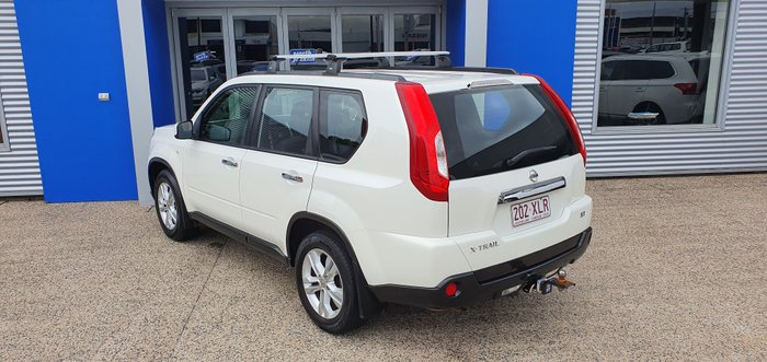 2011 Nissan X-TRAIL ST T31 Series IV WHITE
