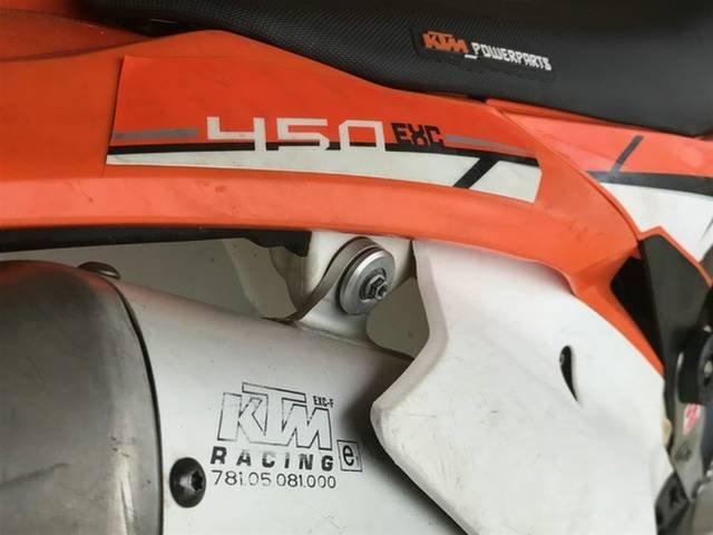 2014 KTM 450 EXC ENDURO ORANGE