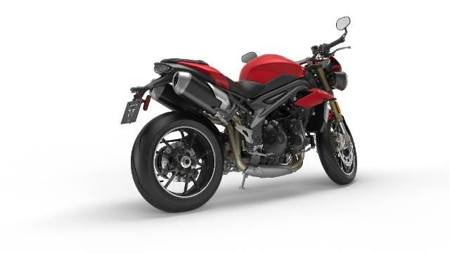 2016 TRIUMPH SPEED TRIPLE S ROAD RED