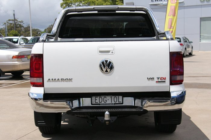 2017 Volkswagen Amarok TDI550 Ultimate 2H MY17 4X4 Constant Candy White