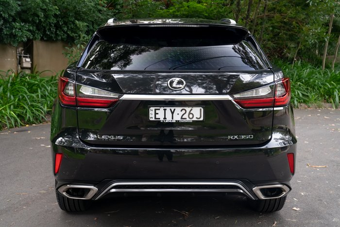 2017 Lexus RX RX350 F Sport GGL25R 4X4 On Demand BLACK