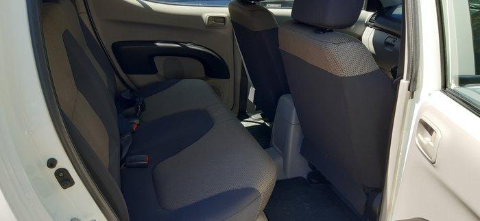 2009 Mitsubishi Triton GLX ML MY09 4X4 Dual Range WHITE