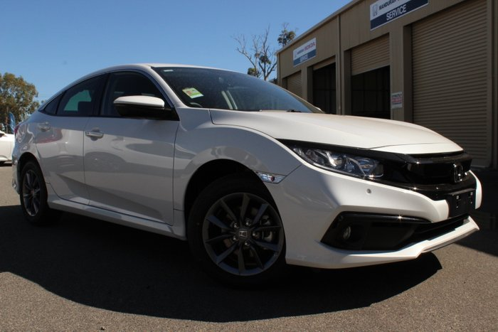 2019 Honda Civic 4 Doors Auto VTI-S 19 PLATINUM WHITE