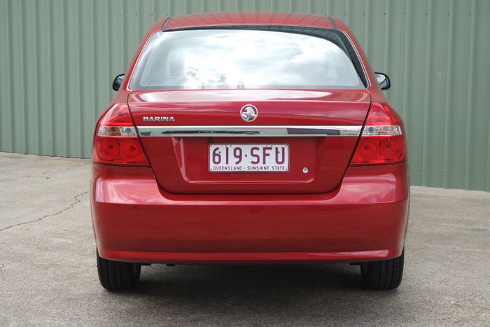 2011 Holden Barina TK MY11 RED