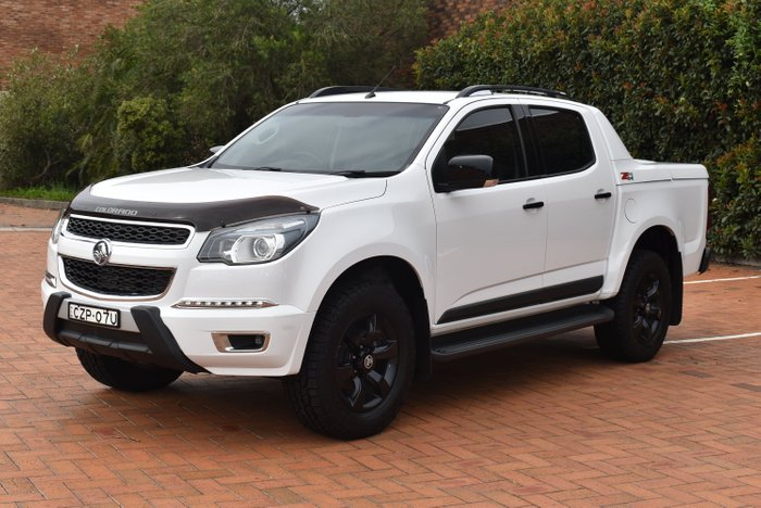 2016 Holden Colorado Z71 RG MY17 4X4 Dual Range WHITE