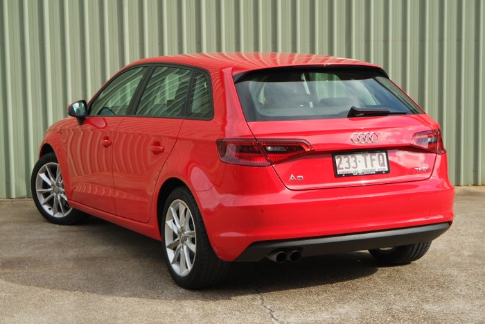 2013 Audi A3 Attraction 8P MY13 RED