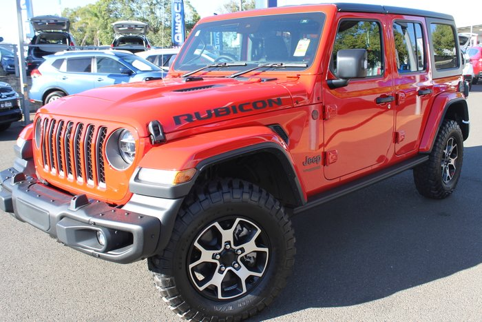 2020 Jeep Wrangler Unlimited Rubicon JL MY21 4X4 Dual Range PRC