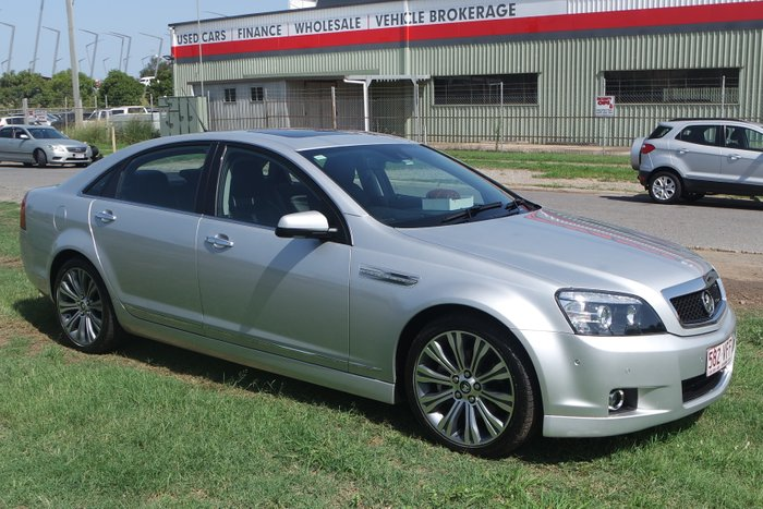 2013 Holden Caprice V WN MY14 SILVER