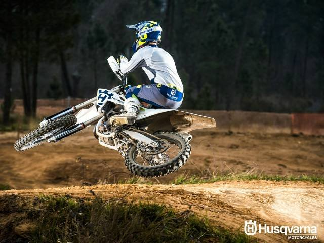 2017 HUSQVARNA FC 350 MOTOCROSS WHITE
