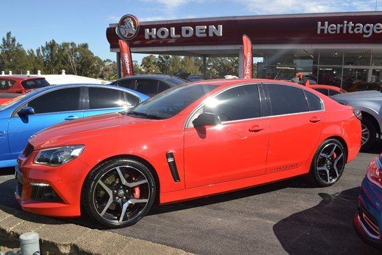 2014 HOLDEN SPECIAL VEHICLE CLUBSPORT