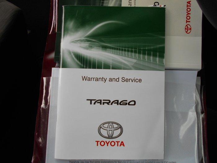 2017 Toyota Tarago GLi ACR50R GREY