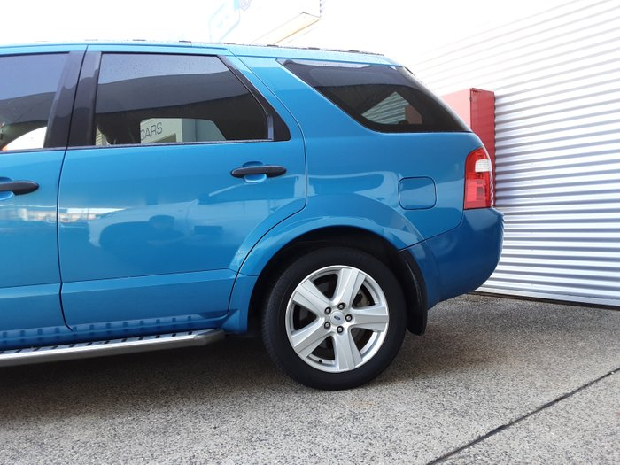 2007 FORD TERRITORY SY Turbo Ghia Wagon 5dr SA 6sp AWD 4.0T BLUE