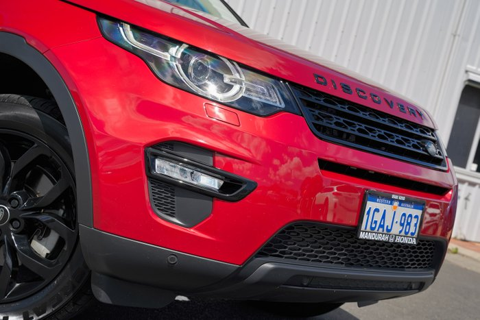 2015 Land Rover Discovery Sport SD4 HSE L550 MY16 4X4 Constant RED