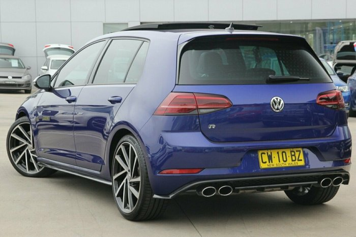 2018 Volkswagen Golf R 7.5 MY18 Four Wheel Drive BLUE