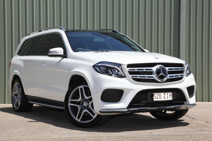 2016 Mercedes-Benz GLS-Class GLS350 d X166 Four Wheel Drive WHITE