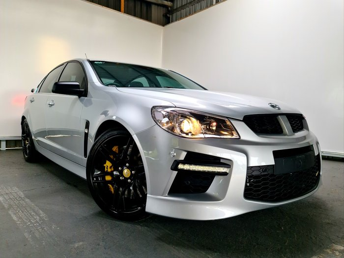 2014 Holden Special Vehicles GTS GEN-F MY14 SILVER