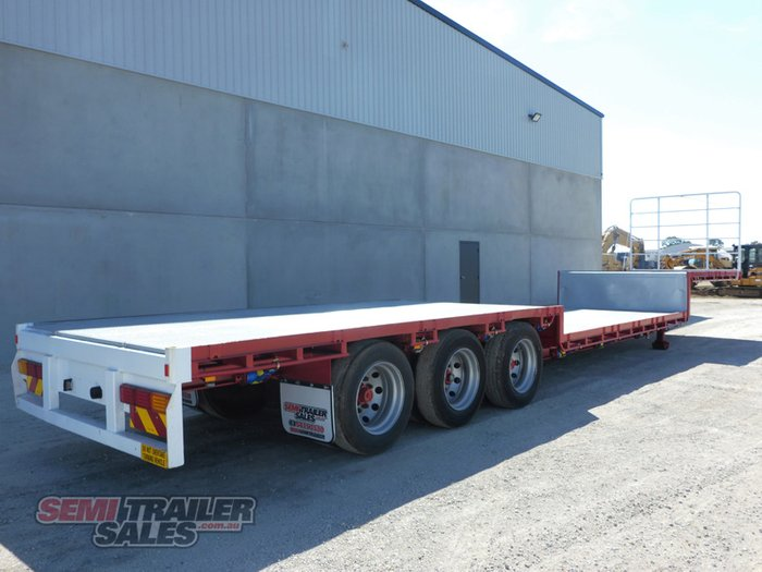 2001 Maxitrans 48FT 24 Pallet Double Dropdeck