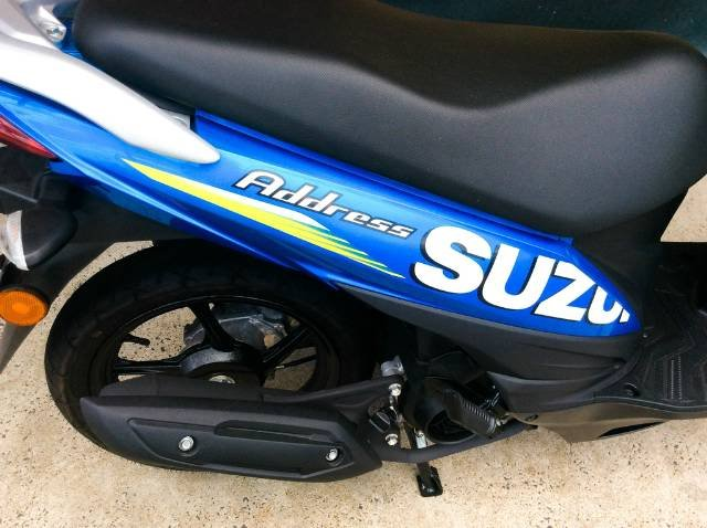 2016 SUZUKI UK110 ADDRESS SCOOTER