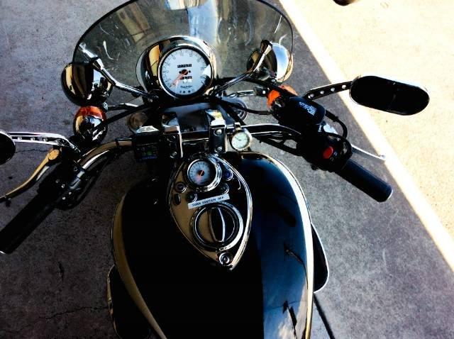 2008 TRIUMPH SPEEDMASTER 865