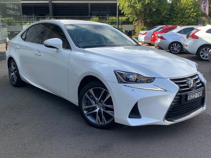 2017 Lexus IS IS200t Luxury ASE30R Sonic Quartz
