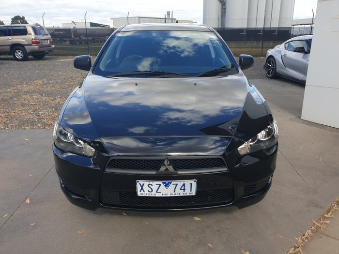 2010 Mitsubishi Lancer ES CJ MY10 BLACK