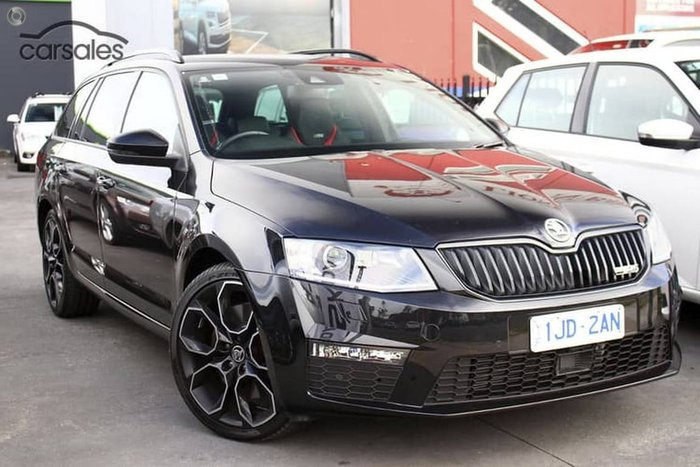 2016 Skoda Octavia MY17 Skoda  RS 162TSi 6sp Man Wagon