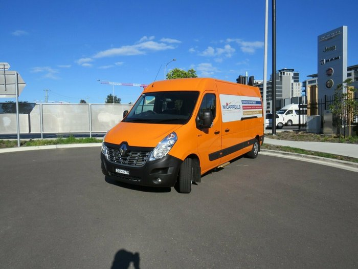 2018 Renault Master LWB L3H2 12 Seater BUS 2.3L T/D 110kW Auto Orange - Solid