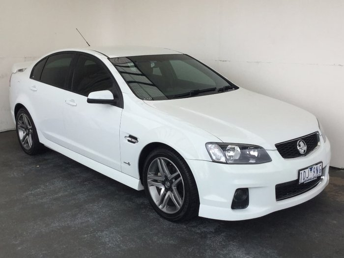 2012 HOLDEN COMMODORE SV6 VE Series II White