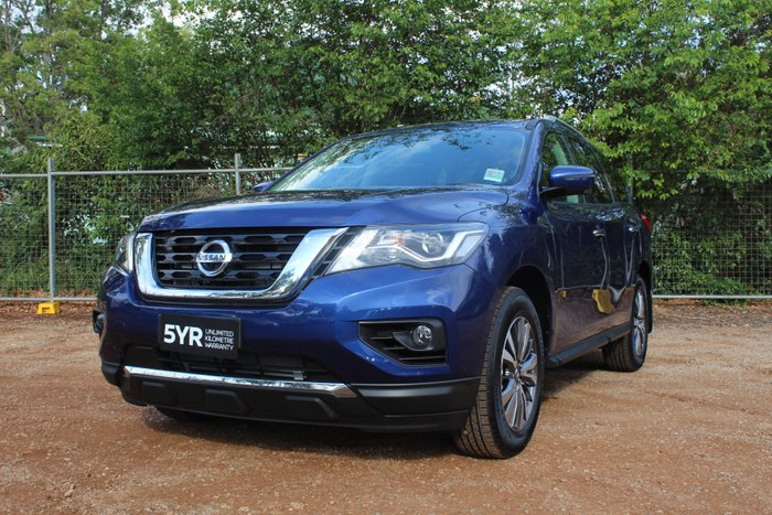 2019 Nissan Pathfinder ST-L R52 Series III MY19 4X4 On Demand CASPIAN BLUE