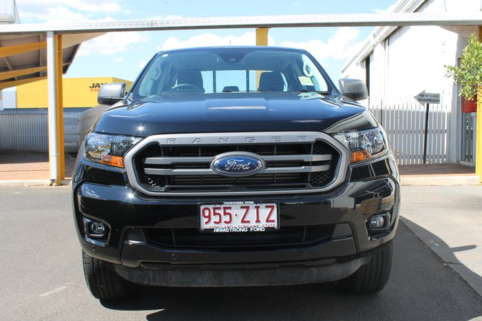 2019 Ford Ranger XLS PX MkIII MY19.75 4X4 Dual Range SHADOW BLACK