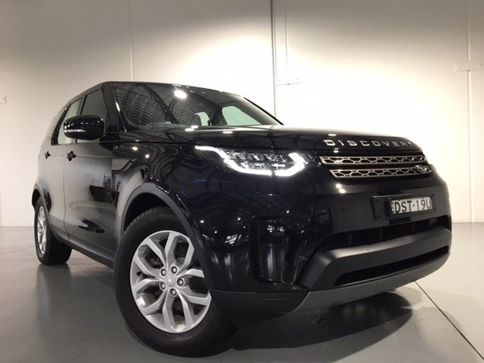 2017 Land Rover Discovery TD6 SE Series 5 MY17 4X4 Dual Range Black