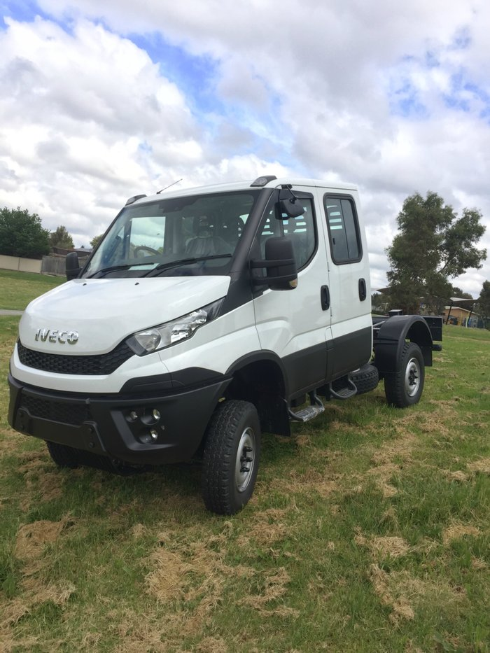 2017 Iveco Daily 55 S17 4X4 Dual Cab