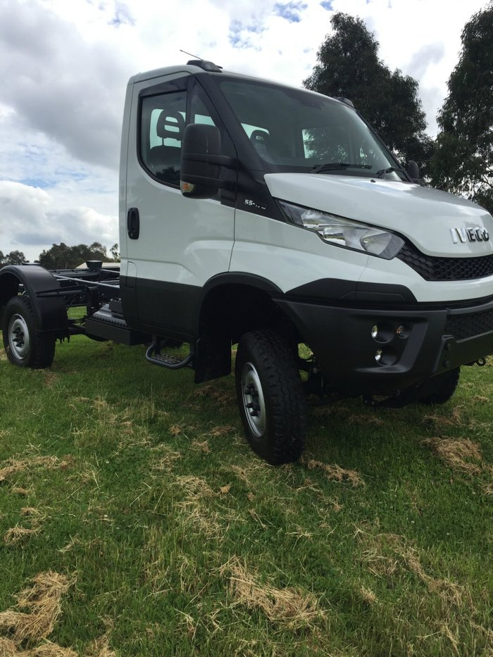 2017 Iveco Daily 55 S17 4X4 Single Cab